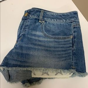 American Eagle Shorts with star pocket detail